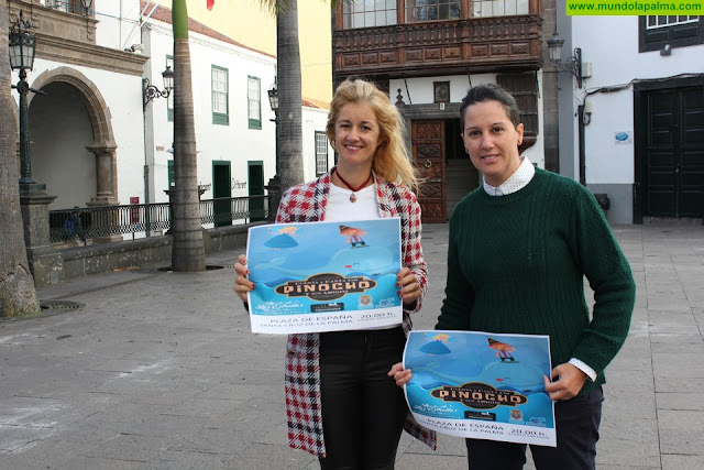 El Ayuntamiento de Santa Cruz de La Palma trae el musical infantil 'Canta y juega con Pinocho' a la Noche de las Estrellas