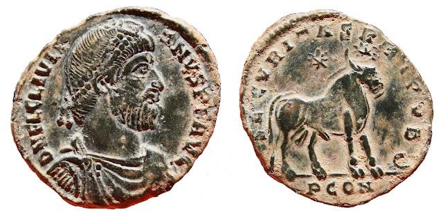 a nombre de Juliano II el Apóstata