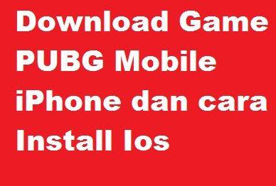 Cara Download Game PUBG dan Instal di IOS Iphone