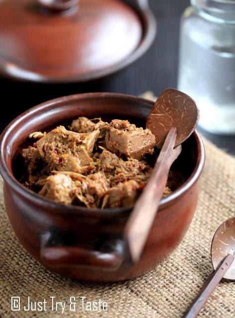 Cara Memasak Sayur Gori Bumbu Rendang : memasak, sayur, bumbu, rendang, Rendang, Nangka, Kalah, Dengan, Versi, Dagingnya, Taste