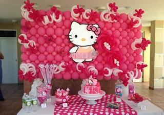 Dekorasi Ulang Tahun Hello Kitty