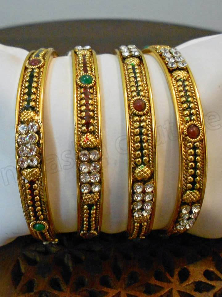 Latest Design Of Assam Type House: Latest Designs Of Bangles And Earrings 2015 By Natasha