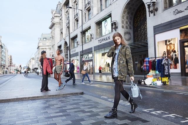 Comprar roupa em Londres
