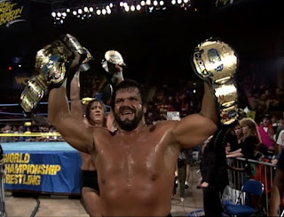 WCW Great American Bash 1992 - Miracle Violence Connection won the WCW tag team titles