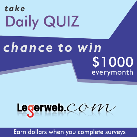 Answer Daily Quick to Make Online Money (LegerWeb) | Survey