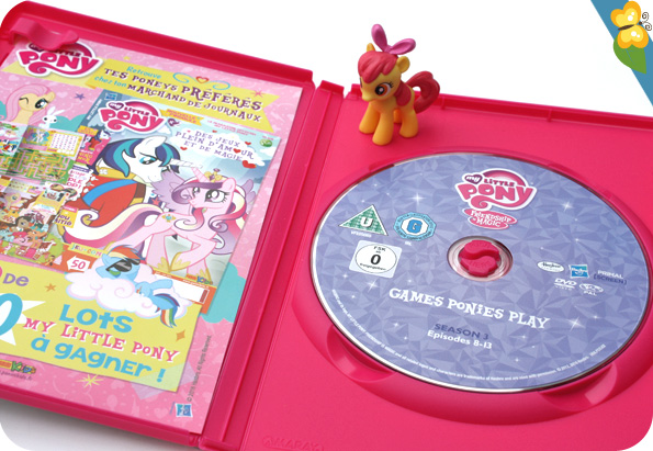 DVD My Little Pony - Les jeux d'Equestria