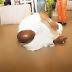 Nigerian Senator Dino Melaye Rolls On The Floor In Thanksgiving After Surviving Assassination Attempt (Photos)
