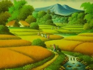 gambar pemandangan kampung - photo #22