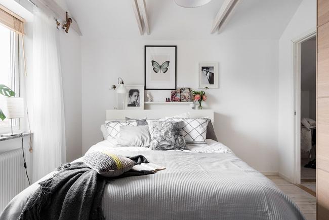 Habitación estilo nórdico-escandinavo