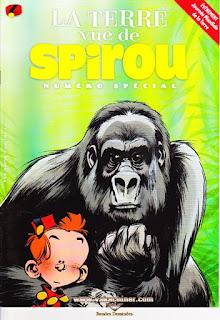 La terre vue de Spirou, numéro spécial, 4019, année 2015