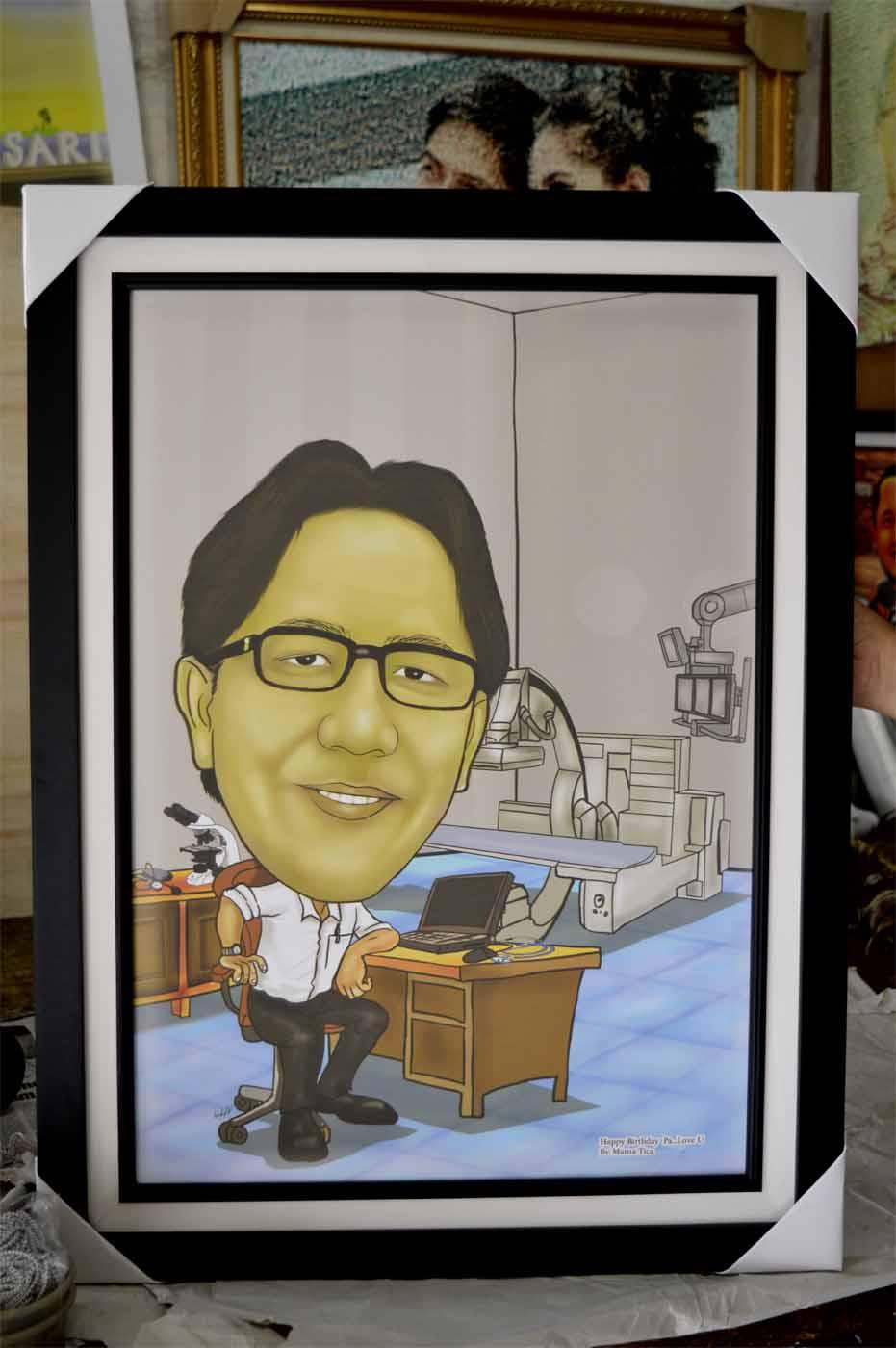 Jasa Karikatur Wajah Karikatur Digital Dan Manual Daftar Harga