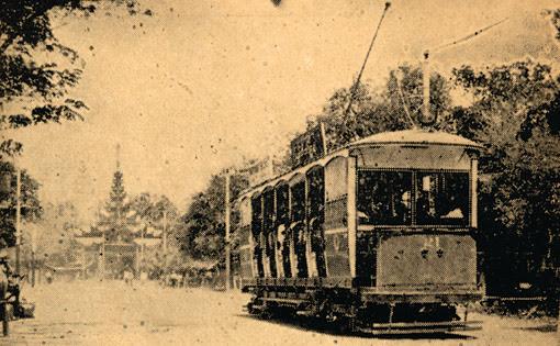 Tram or Street car in Mandalay
