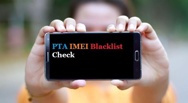 PTA IMEI blacklist check