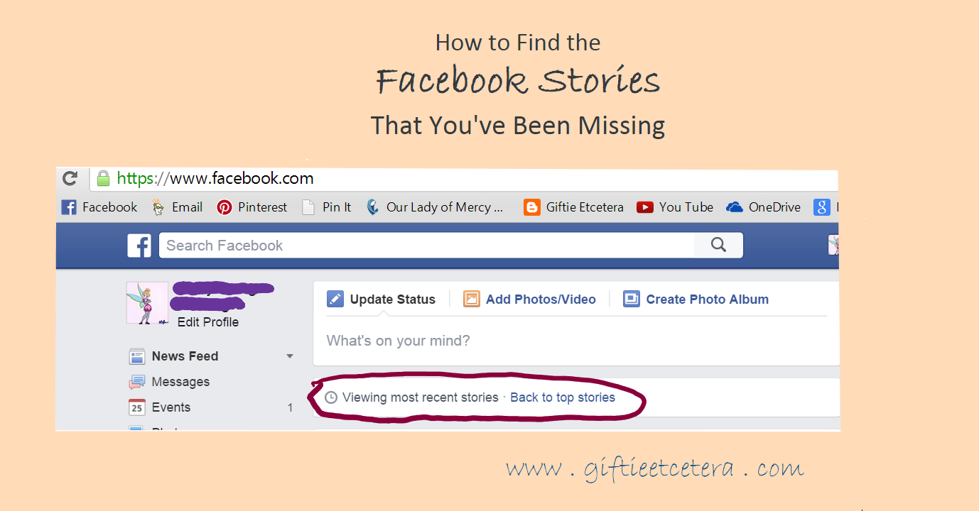 Facebook tips and tricks missed stories surface pro 3