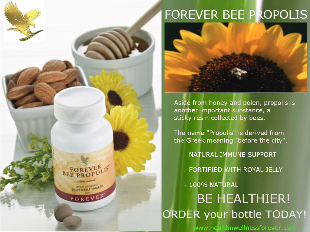 Health N Wellness Forever : The HEALTH BENEFITS of BEE PROPOLIS