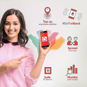 Cara Nak Tambah Nilai (Topup) Melalui Aplikasi Boost Dengan Mudah & Cepat.