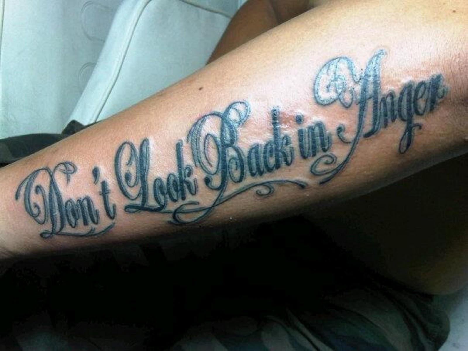 Tatto Is Art Tattoo Fonts New 2014