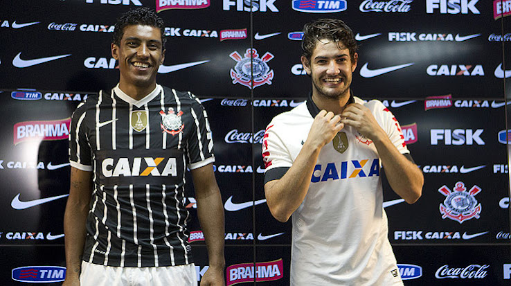 The Corinthians 2013 Home Shirt is inspired by the 1990s kit design and  features the same template including the same collar as the Brazil 2013  Confed Cup ... 49969cb82