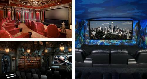 home theater design ideas for your dream media room - Home Theater Design Ideas