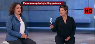 Tatiana Cabello y Angélica Lozano Lenguaje corporal políticos Colombianos