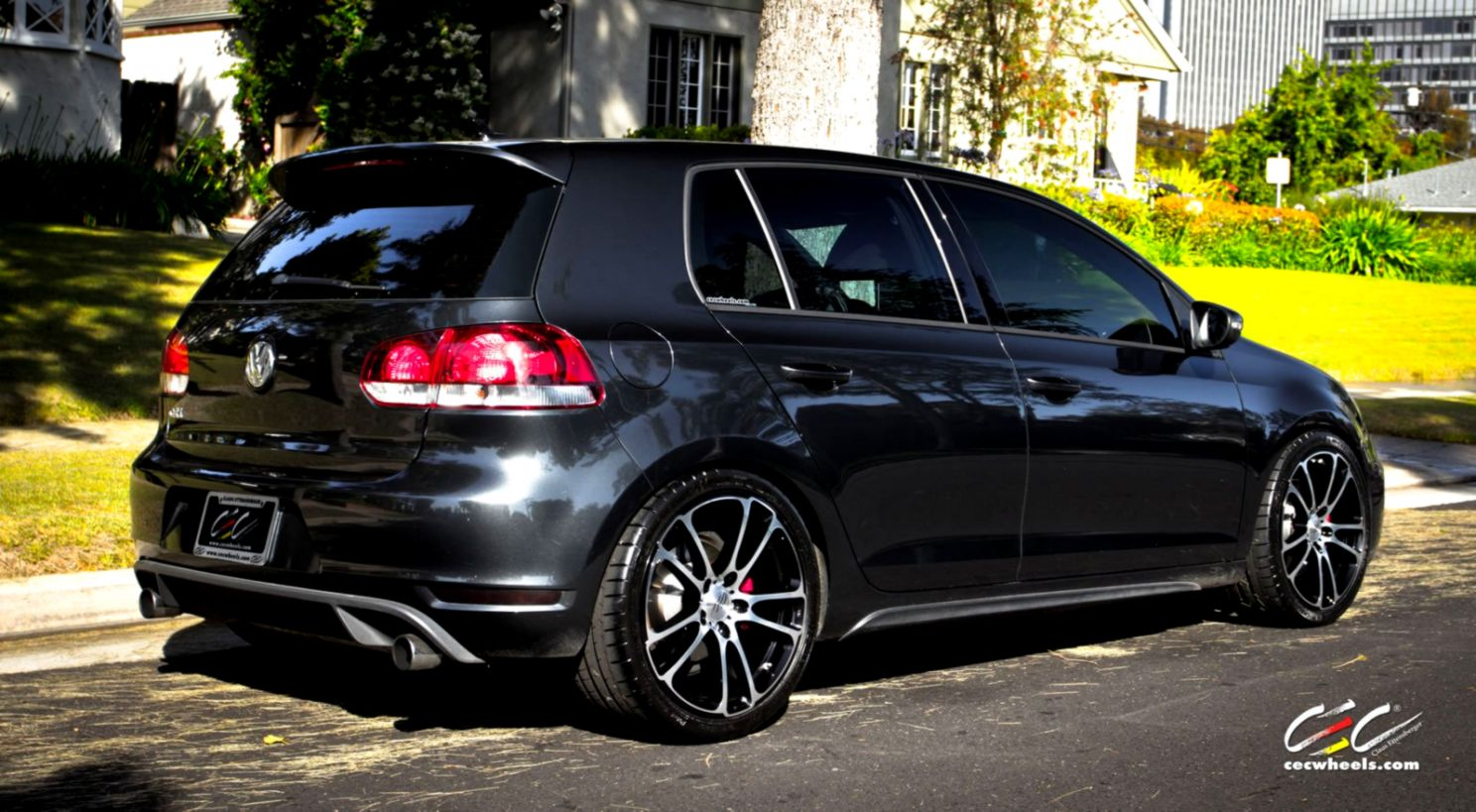 Volkswagen Golf Gti Wheel Tuning Hd Wallpaper Wallpapers