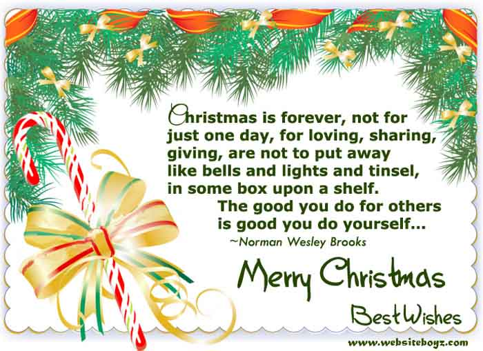 Best Poems Of Merry Christmas 2017 - Happy Christmas Day Poems For ...