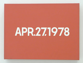On Kawara, 1978, Apr. 27, 1978
