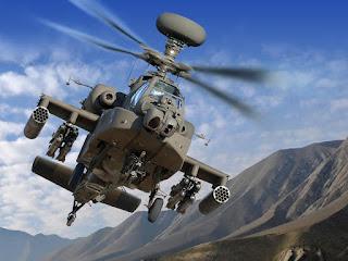 Helikopter AH-64E Apache Guardian