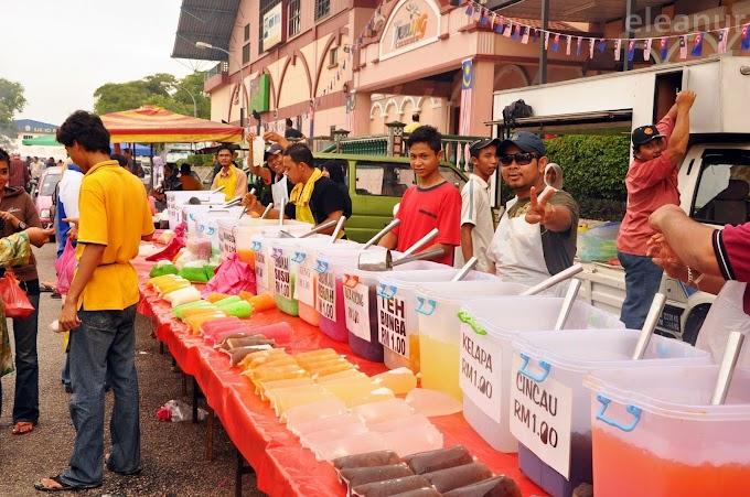 Cara Berniaga Air Balang Di Bazaar Ramadhan