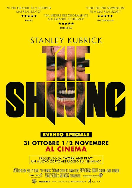 Shining Poster Ita
