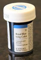 blue coloring gel for frosting