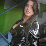 Andrea Rincon, Selena Spice Galeria 5 : Vestido De Latex Negro Foto 126