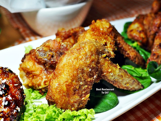 ECO WINE KUCHAI LAMA - Snack Menu - Fried Chicken Wings