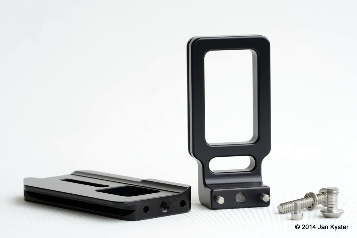 Hejnar ND800 Modular L Bracket components