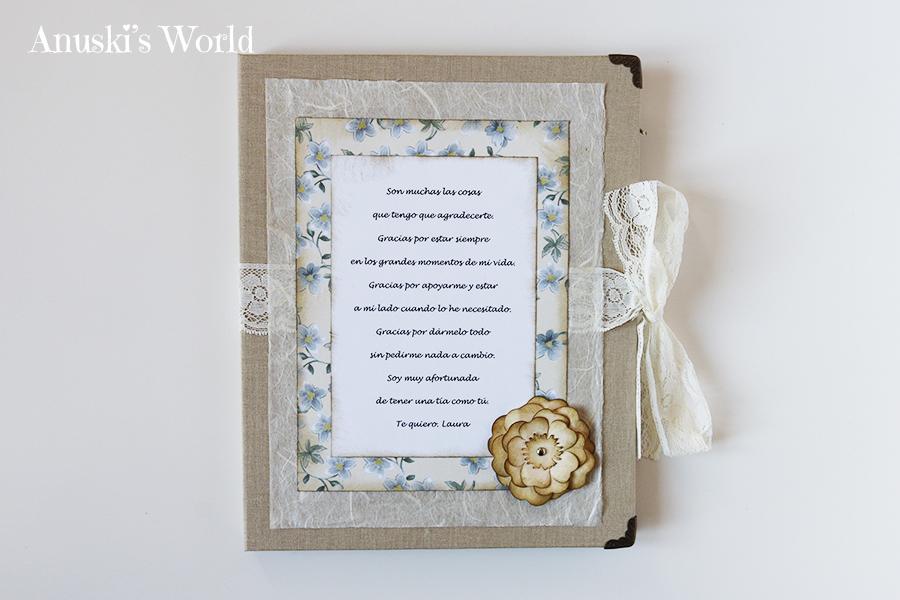 Marco de fotos doble personalizado con caja - Anuski´s World