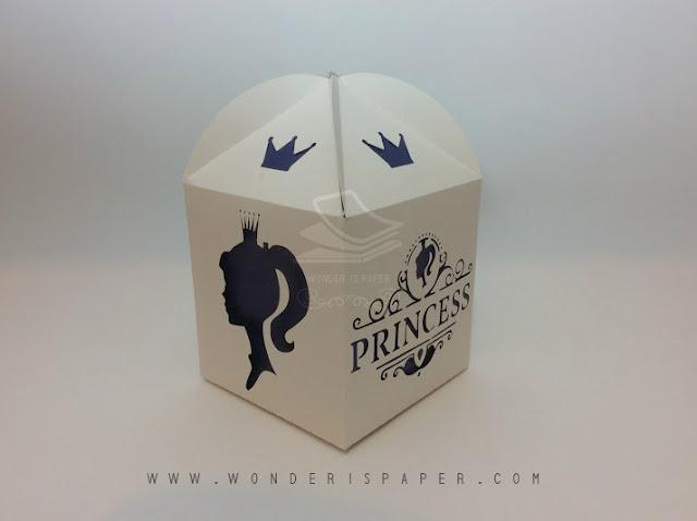 Caja Elegante de Princesa