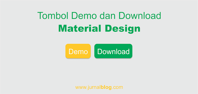 Membuat Tombol Demo dan Download Material Design