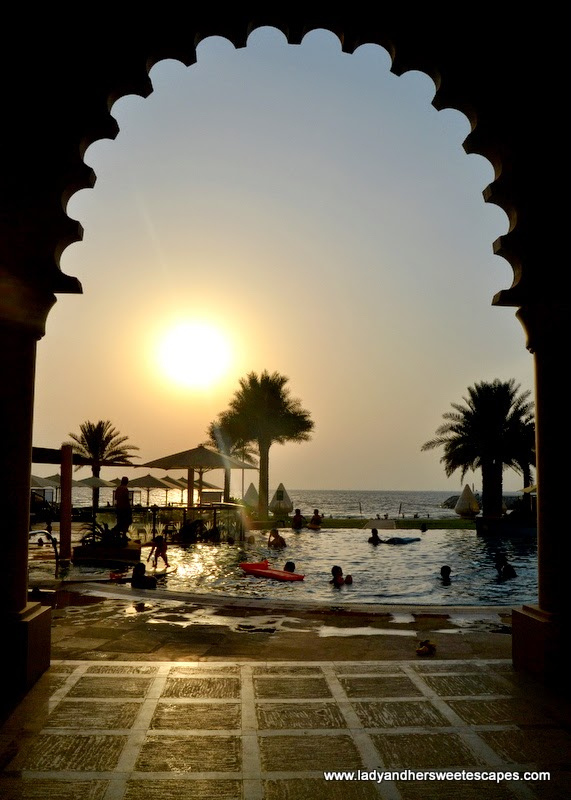 leisure facilities at The Ajman Palace