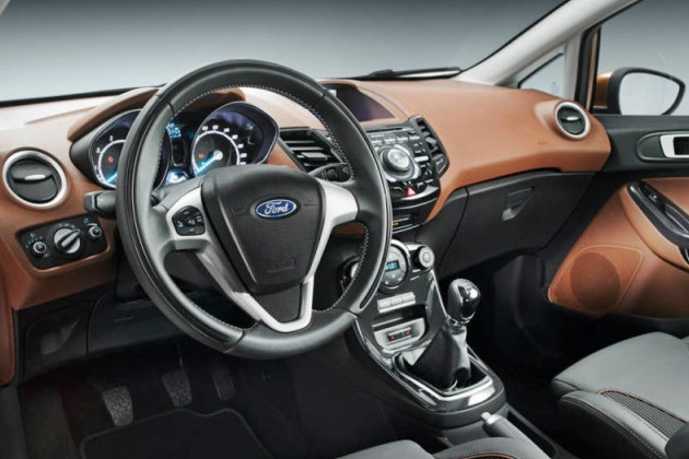 2017 Ford Fiesta Rs Interior