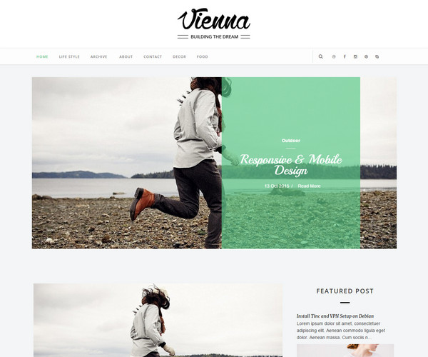 Vienna Template blogspot
