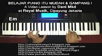 Latihan Bermain Piano Keyboard Dengan Lagu