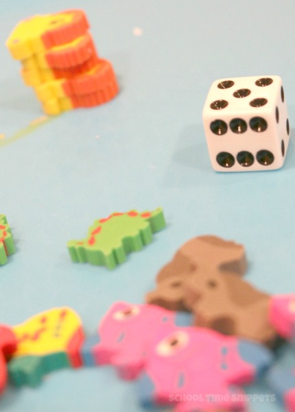 Mini Eraser Game for Preschoolers