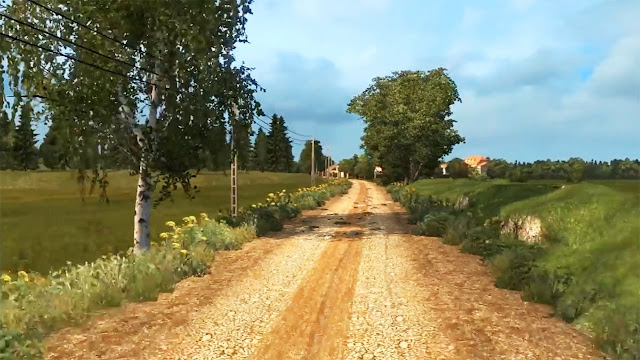 screenshot map jateng v2 ets2