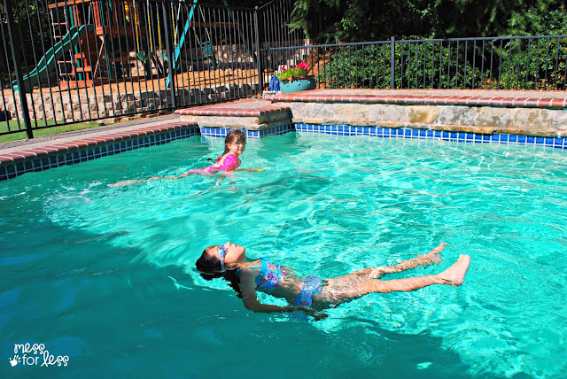 How We Keep Our Pool Water Clean Without A Service Mess For Less