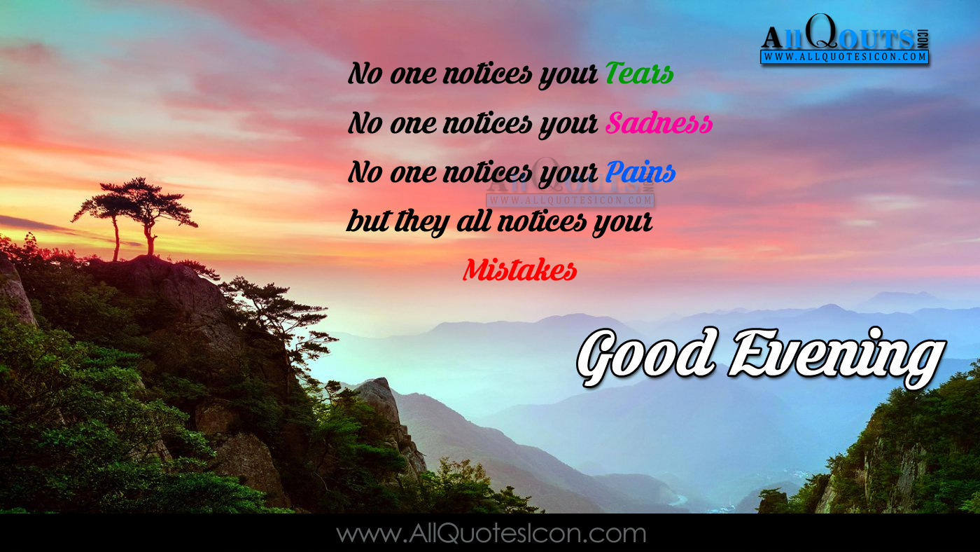 Best Good Evening Messages English Quotations Images Best Life