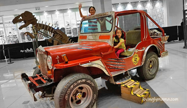 Dino Play by The Mind Museum - Ayala Malls Capitol Central - homeschooling in Bacolod - Bacolod mommy blogger - Jurassic Park jeep