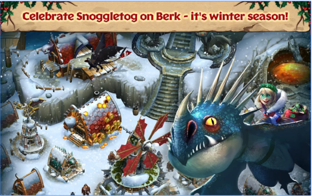 Game Dragons Rise of Berk V1.24.10 MOD APK