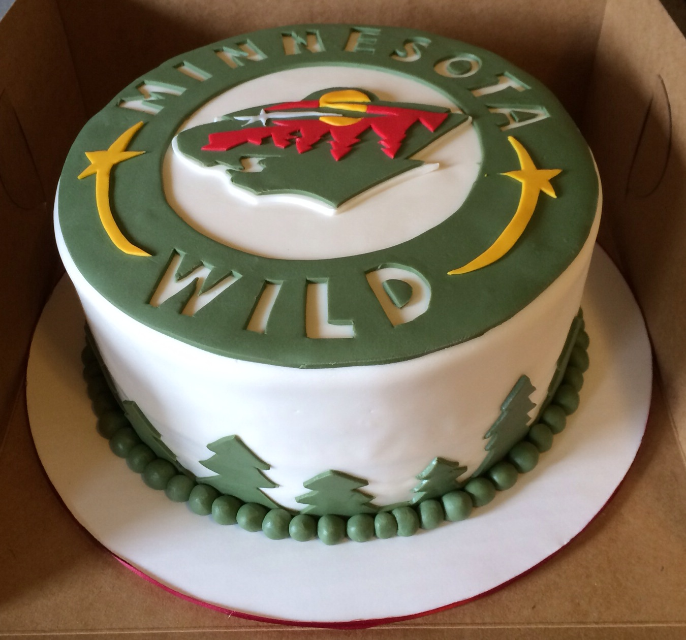 Sweets By Sokuntea: Minnesota Wild's