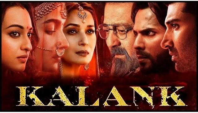 Kalank Full Movie Leaked Online to Download Tamilrockers