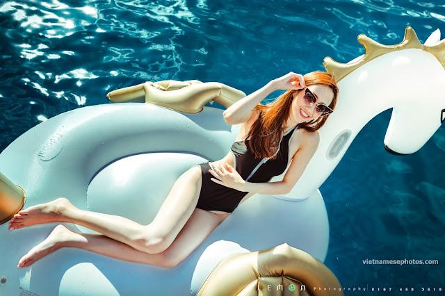 Beautiful Vietnamese girl bikini vol 77 2